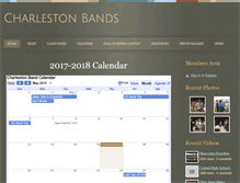 Tablet Preview of charlestonbands.org